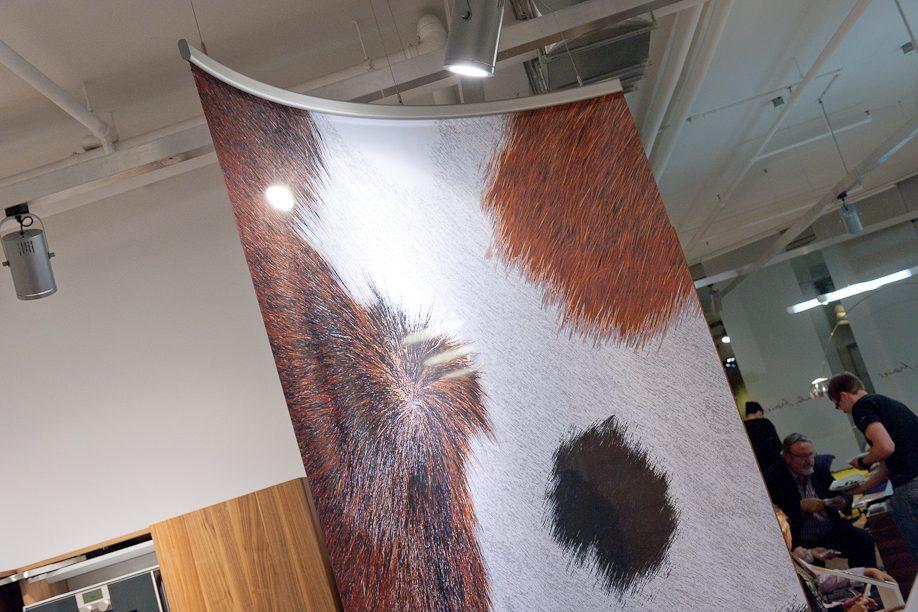 Ute Mack Textildesign Rauminszenierungen